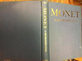 Monet : a Retrospective回顾莫奈经典作品集,16开精装彩图本