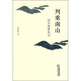 判重南山:法官思维札记