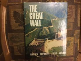 The Great Wall 中国万里长城,1981首版大开本布面精装多美图,九品强