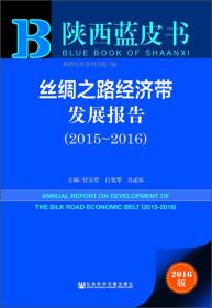 陕西蓝皮书 丝绸之路经济带发展报告
