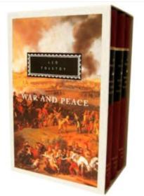 War and Peace(全三册  人人文库版 战争与和平)
