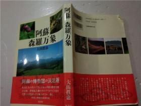 原版日本日文书 阿苏·森罗万象 大田真也 弦书房 大32开平装