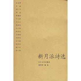 新月派诗选 杨芳芳 长江文艺出版社