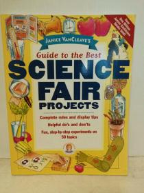 50个少儿趣味科学实验项目 Janice VanCleaves Guide to the Best Science Fair Projects (童书) 英文原版书