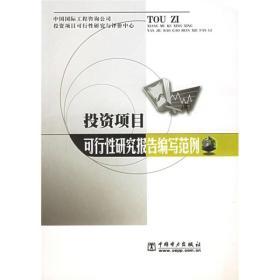 投资项目可行性研究报告编写范例
