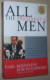 英文原版书 All the Presidents Men 美国前总统尼克松弹劾案 by Bob Woodward  (Author), Carl Bernstein  (Author)