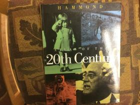 Hammond Atlas of the 20th Century 哈迈德版二十世纪地图集,铜板彩图精印,品佳