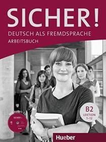 德国原版 德文 德语教材 Sicher! B2+: Deutsch als Fremdsprache Arbeitsbuch 练习册