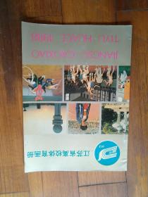 江苏省高校体育画册1988