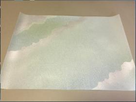 写经用纸 31    手漉  高级装饰和纸( 1枚  )