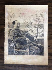 毛泽东黑白照片
