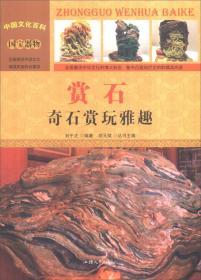 中国文化百科-赏石:奇石赏玩雅趣(彩图版)/新