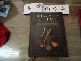精装Mighty Spice Cookbook:快速、新鲜和活力的菜为每个配方使用