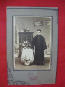 【民国老照片】少爷(名人?有待考究)----浮雕卡纸镶嵌