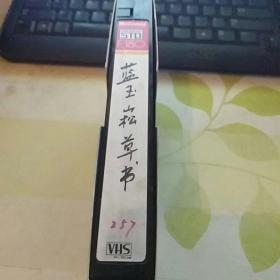 录像带  蓝玉崧草书 【中国书画函授大学旧藏】23号