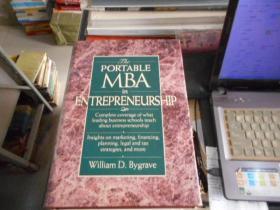 The Portable MBA in Entrepreneurship 在创业的便携式MBA