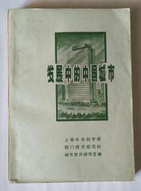 发展中的中国城市