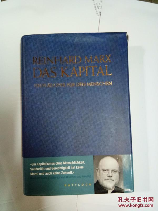 REINHARD MARX DAS KAPITAL
