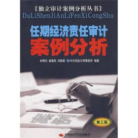 任期经济责任审计案例分析
