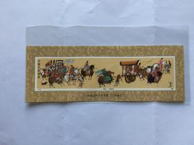 邮票T131 三国演义 千里走单骑 3元