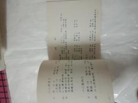 中医验方选  油印 有献方人名字