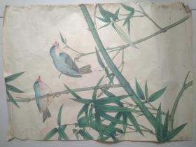 80年代花鸟画原稿