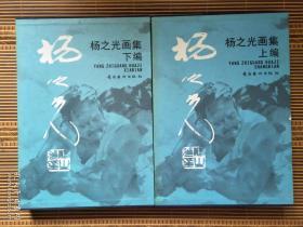 杨之光画集 (上下编)2002年一版一印,8开精装带盒套