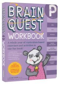 Brain Quest Workbook: Pre-K (With Stickers)  益智练习:Pre-K级