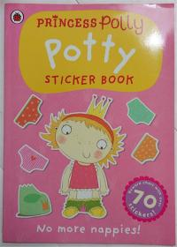 Princess Polly  Potty Sticker  Book Paperback  波莉公主 贴纸书活动 平装书