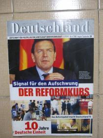 Deutschland德国杂志(原版)2000年第4期
