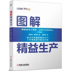 图解精益生产 正版 刘胜军,毛同霞,张翼鸾 绘 9787111459132 机械工业出版社 正品书店