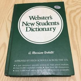 Webster's New Students Dictionary