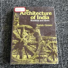The Architecture of India  Buddhist and Hindu(印度建筑)