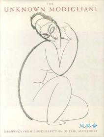 The Unknown MODIGLIANI, Collection of Paul Alexandre 莫迪里阿尼 素描与手稿448件 英文原版