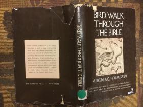 Bird walk through the Bible圣经中的鸟儿,1972布面书籍精装本,稀少
