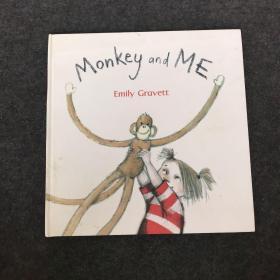 英文原版繪本Monkey and Me 猴子和我 吳敏蘭大開平裝格林威獎作家Emily