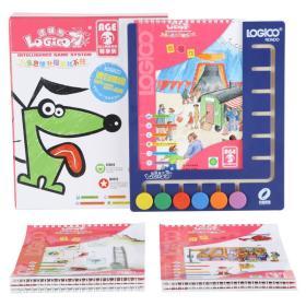 逻辑狗儿童思维升级游戏系统6-7岁尊享装(家庭版·盒式)