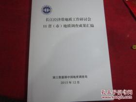 长江经济带地质工作研究会地质调查成果汇编