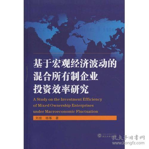 基于宏观经济波动的混合所有制企业投资效率研究武汉大学刘放;杨筝9787307193222
