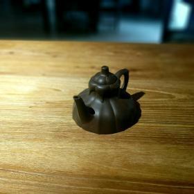 中国宜兴紫砂厂一厂紫砂壶六瓣水仙壶