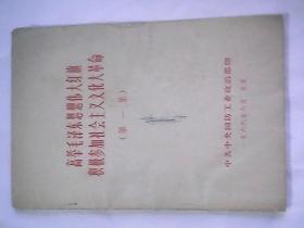 高举毛泽东思想伟大红旗 积极参加社会主义文化大革命(第一集)