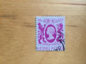 香港郵票 1982年女皇依利莎伯二世通用郵票第四輯 60C (信銷票)