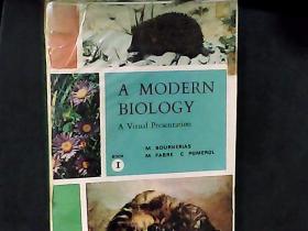 外文关于动植物的原版书 扉页贴有一张藏书票