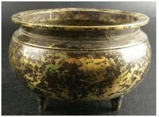铜香炉(老的)457.5克