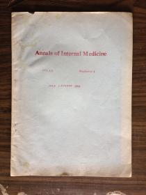 Annals of Internal Medicine(1994)