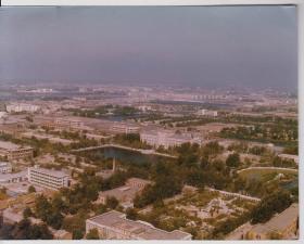 上世纪八十年代南开大学7英寸俯瞰照片2幅(南开大学系列照片)