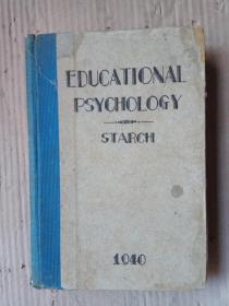 教育心理学(英文民国精装版)EDUCATIONAL PSYCHOLOGY