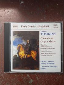 Thomas Tomkins -- Choral and Organ Music