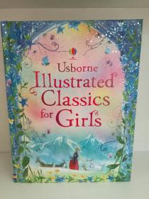 全彩绘本 女孩经典童话故事 Usborne Illustrated Classics for Girls(童书)英文原版书