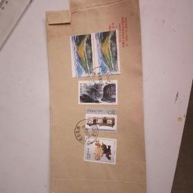 信销邮票5张。